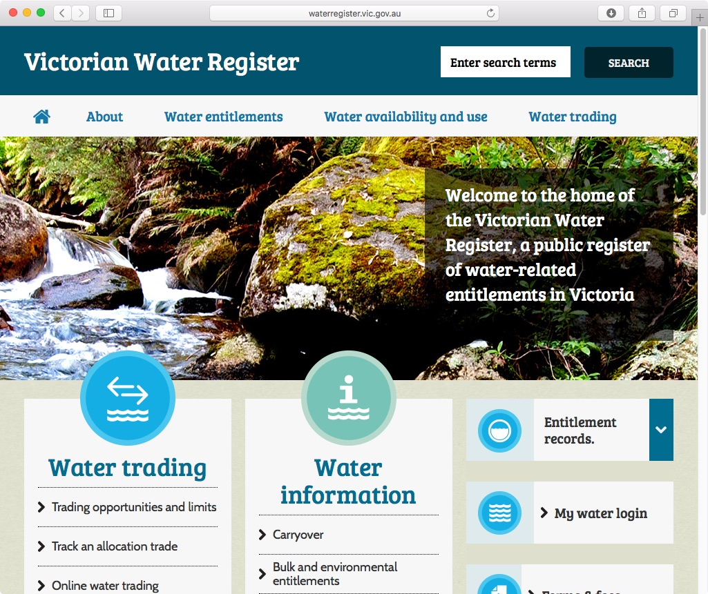 vic-water-register